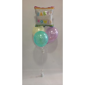 Clothes Line Baby Shower Balloon Bundle