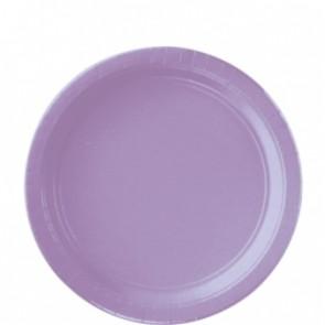 Lavender Paper Plates