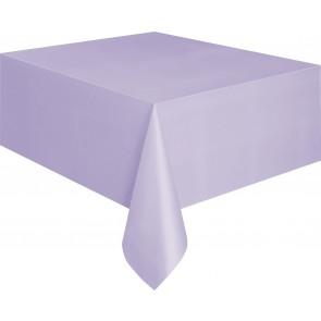 Lavender Plastic Tablecover
