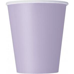 Lavender Paper Cups