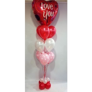 Love You Balloon Arrangement