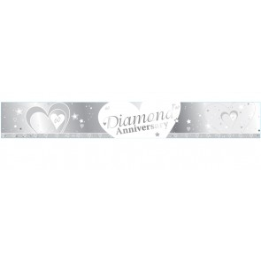 Diamond Wedding Anniversary Banner