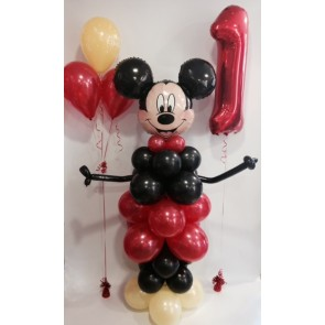 AGE 1 MICKEY MOUSE BALLOON PACKAGE