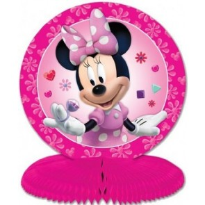 Minnie Mouse Pink Honeycomb Table Centerpiece