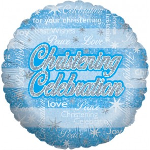 Christening Celebration Foil Balloon