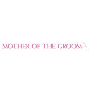 Mother of the Groom Satin Sash