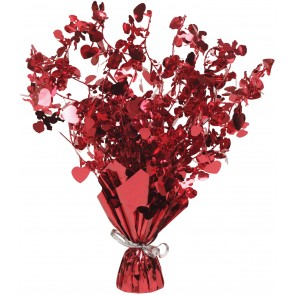 Red Loveheart Spray Centerpiece