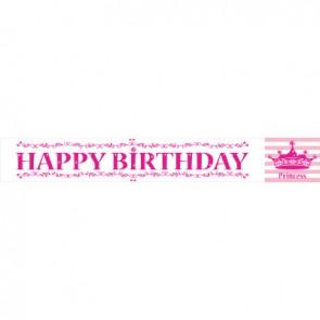 Pink Princess Royalty Banner