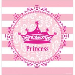 Pink Princess Royalty Plasitc Tablecover