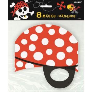 Pirate Fun Party Masks