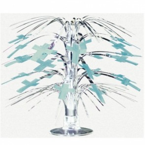 Radiant Cross Blue Mini Cascade Centrepiece