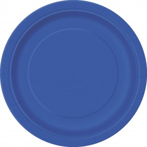 Royal Blue Paper Plates
