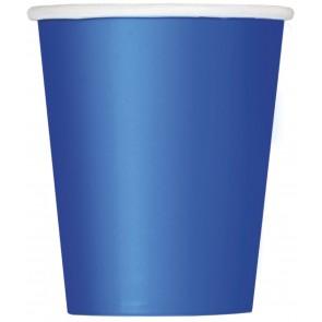 Blue Paper Cups