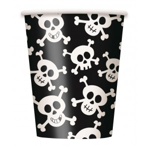 Pirate Skulls Paper Cups