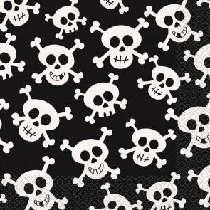 Piate Skulls Paper Napkins