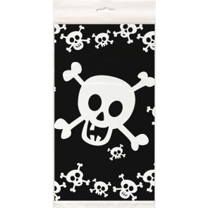 Pirate Skulls Plastic Tablecover