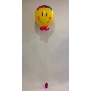 Smiley Clown Bubble Balloon