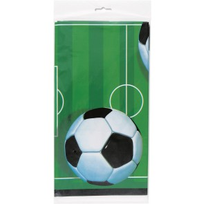 Football Party Plastic Tablecover