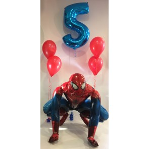 SPIDERMAN AGE 5 BALLOON PACKAGE