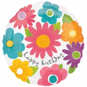 Spring Fling 'Happy Birthday Foil'
