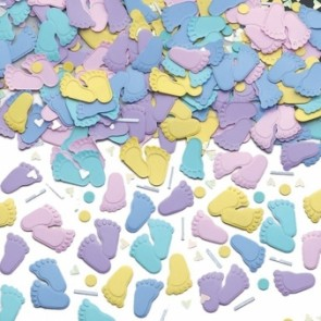 Pitter Patter Feet Confetti