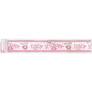 Umbrellaphants Pink Foil Banner