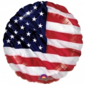 USA Flag Foil Balloon