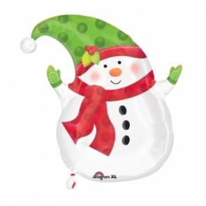 Winter Snowman Jr.Shape